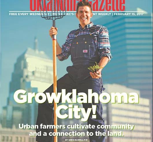 Urban Neighbors Community Garden Featured in Oklahoma Gazette