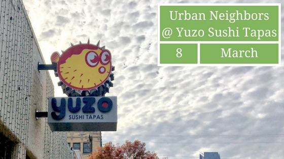 March Social at Yuzo Sushi Tapas