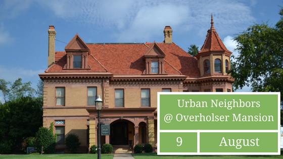 August Social at Overholser Mansion
