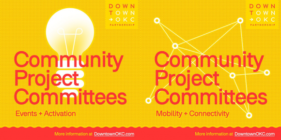 Downtown OKC Community Project Committees