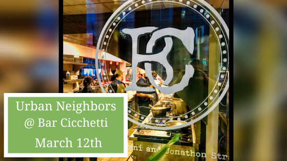 March Social at Bar Cicchetti